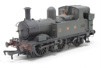 H1407-PO02 Class 58xx 0-4-2T 5802 in GWR Unlined green with G W R lettering - Lightly weathered - Open box, DCC Sound fitted