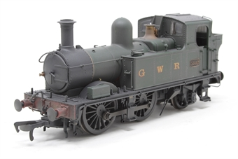 H1407-PO Class 58xx 0-4-2T 5802 in GWR Unlined green with G W R lettering - Lightly weathered - Pre-owned - DCC fitted £100