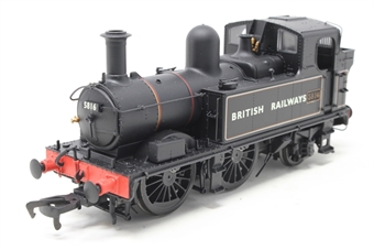 H1408-PO01 Class 58xx 0-4-2T 5816 in BR Lined black with BRITISH RAILWAYS (Gill Sans) - Open box. Glue marks round one numberplate