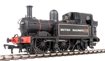 H1408 Class 58xx 0-4-2T 5816 in BR Lined black with BRITISH RAILWAYS (Gill Sans)