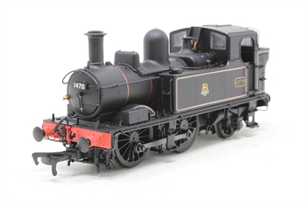 H1409-PO03 Class 14xx 0-4-2T 1470 in BR Lined black with early emblem - Open box, DCC Fitted, slightly poor runner