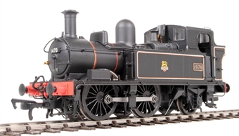 H1409 Class 14xx 0-4-2T 1470 in BR Lined black with early emblem