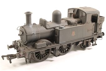 H1412-OS Class 14xx 0-4-2T 1474 in BR Unlined black with early emblem - Heavily weathered - Pre-owned - DCC Sound-fitted - inconsistent runner £150