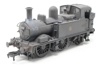 H1412-PO03 Class 14xx 0-4-2T 1474 in BR Unlined black with early emblem - Heavily weathered - Open box