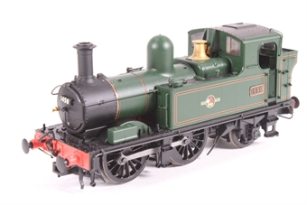 H1414-PO01 Class 14xx 0-4-2T 1450 in BR Lined green with late crest - Pre-owned - DCC Sound-fitted, inconsistent runner