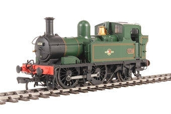 H1414 Class 14xx 0-4-2T 1450 in BR Lined green with late crest £99
