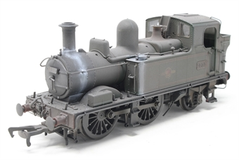 H1415-PO03 Class 14xx 0-4-2T 1432 in BR Lined green with late crest - Heavily weathered - Open box, Missing detailing pack, imperfect box