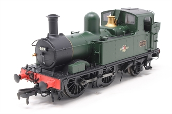H1416-PO02 Class 14xx 0-4-2T 1409 in BR Unlined green with late crest - Pre-owned - DCC fitted, inconsistent runner at low speed