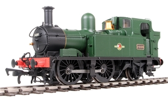 H1416 Class 14xx 0-4-2T 1409 in BR Unlined green with late crest