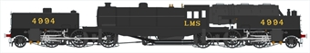 H2-BG-001 Beyer Garratt 2-6-0 0-6-2 4994 in LMS black