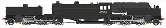 H2-BG-005 Beyer Garratt 2-6-0 0-6-2 47995 in BR black with number on cab and plain tanks