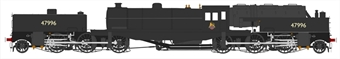 H2-BG-006 Beyer Garratt 2-6-0 0-6-2 47996 in BR black with early emblem