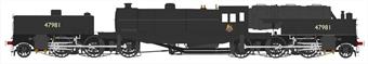 H2-BG-007 Beyer Garratt 2-6-0 0-6-2 47981 in BR black with early emblem
