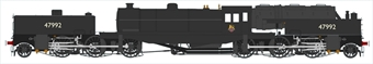 H2-BG-008 Beyer Garratt 2-6-0 0-6-2 47992 in BR black with early emblem