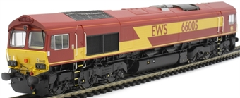 H4-66-001-S Class 66 66005 in EWS livery - Sound Fitted