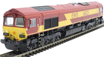 H4-66-003-D Class 66 66125 in EWS livery - Digital Fitted