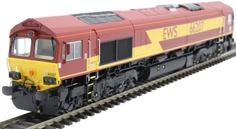 H4-66-004-D Class 66 66207 in EWS livery - Digital Fitted
