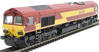 H4-66-005-S Class 66 66088 in EWS livery with DB branding - Sound Fitted