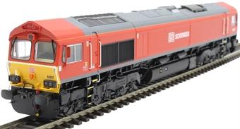 H4-66-006 Class 66 66097 in DB Schenker livery