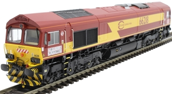 H4-66-009-S Class 66 66218 in Euro Cargo Rail livery with DB branding - Sound Fitted