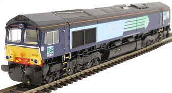 H4-66-010 Class 66 66404 in DRS compass livery