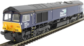 H4-66-013-S Class 66 66429 in DRS plain livery - Sound Fitted