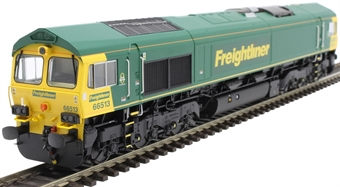 H4-66-015-D Class 66 66513 in Freightliner livery - Digital Fitted