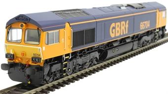 H4-66-022-D Class 66 66704 in GBRf original livery - Digital Fitted