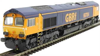 H4-66-022-S Class 66 66704 in GBRf original livery - Sound Fitted