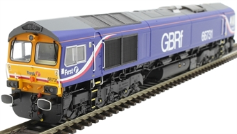 H4-66-025-S Class 66 66731 in GBRf/First group livery - Sound Fitted