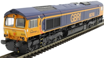 "H4-66-026 Class 66 66740 in GBRF Europorte livery ""Sarah"""