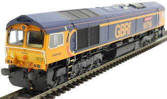 "H4-66-027-D Class 66 66756 in GBRF Europorte livery ""Royal Corps of Signals"" - Digital Fitted"