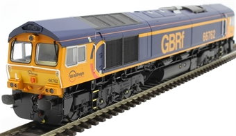 H4-66-028-S Class 66 66762 in GBRF Europorte livery - Sound Fitted