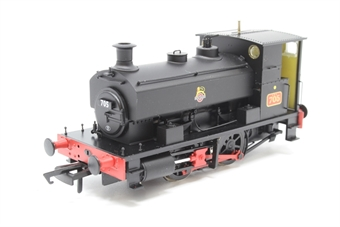 "H4-AB14-001-PO01 Andrew Barclay 0-4-0ST 14"" 2047 '705' in BR black with early emblem - Pre-owned - Like new"