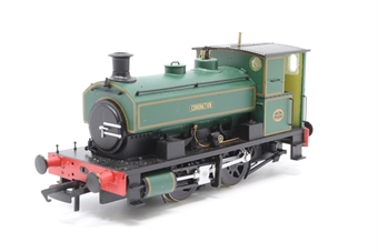 "H4-AB14-003-PO02 Andrew Barclay 0-4-0ST 14"" 2134 ""Coronation"" in lined green - Open box"