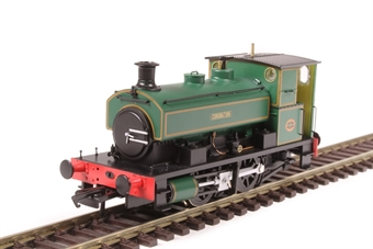 "H4-AB14-003 Andrew Barclay 0-4-0ST 14"" 2134 ""Coronation"" in lined green"