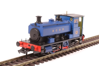 "H4-AB14-007 Andrew Barclay 0-4-0ST 14"" 1927 'No.1' in Burnley Corporation Gas Department blue £99"