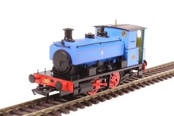 "H4-AB14-008 Andrew Barclay 0-4-0ST 14"" 2134 'No.3' in Fina lined blue"