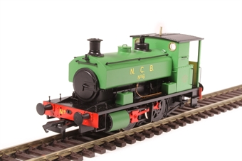 "H4-AB16-002 Andrew Barclay 0-4-0ST 16"" 2043 'No 6' in NCB green"