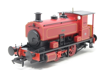 "H4-AB16-003-PO02 Andrew Barclay 0-4-0ST 16"" 2226 ""Katie"" in lined maroon - Open box, missing detailing pack, imperfect box"