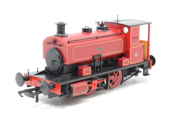 """H4-AB16-003-PO03 Andrew Barclay 0-4-0ST 16"""" 2226 """"Katie"""" in lined maroon - Open box, DCC fitted"""