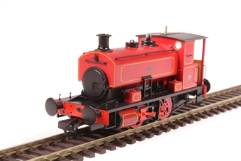 "H4-AB16-003 Andrew Barclay 0-4-0ST 16"" 2226 ""Katie"" in lined maroon"