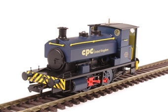 """H4-AB16-004 Andrew Barclay 0-4-0ST 16"""" 1964 in CPC UK blue £99"""