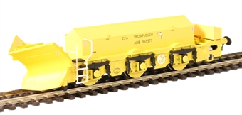 H4-BH-002 Beilhack snow plough (ex Class 40) ZZA ADB965577 in BR yellow