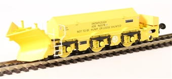 H4-BH-003 Beilhack snow plough (ex Class 40) ZZA ADB965578 in BR yellow £43