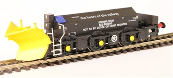 H4-BH-007 Beilhack snow plough (ex Class 40) ZZA ADB965580 in Railtrack Black