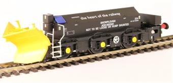 H4-BH-008 Beilhack snow plough (ex Class 40) ZZA ADB965581 in Railtrack Black