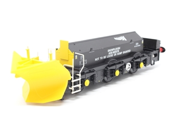 H4-BH-009-PO01 Beilhack snow plough (ex Class 40) ZZA ADB965578 in Network Rail black - Pre-owned - Like new