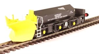 H4-BH-010 Beilhack snow plough (ex Class 40) ZZA ADB965579 in Network Rail black