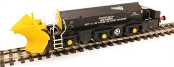 H4-BH-011 Beilhack snow plough (ex Class 45) ZZAADB966098 in Network Rail black